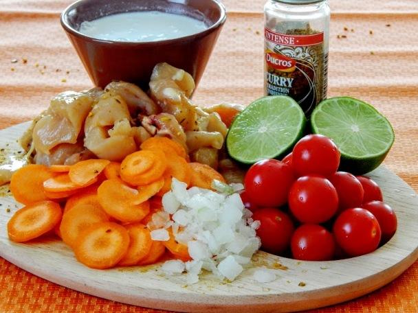 Ingrédients poulet au curry thai.JPG