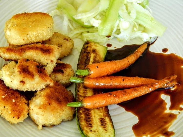 Croustillants de poulet sauce citronnée.JPG