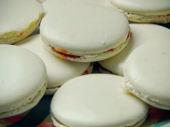 Macarons 1ere fournée